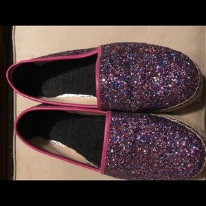 Kate Spade glitter Linds Too size 9